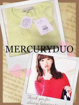 中村アン! MERCURYDUO【新品未使用】スプリングニット Yellow
