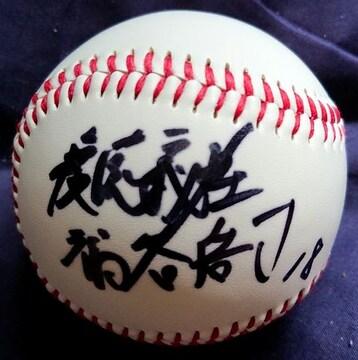 福谷浩司・直筆サインボール 愛知横須賀高→慶応義塾大→中日ドラゴンズ