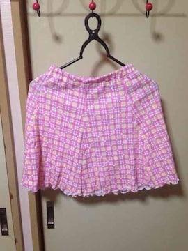 ピンクスカート(*^^*)
