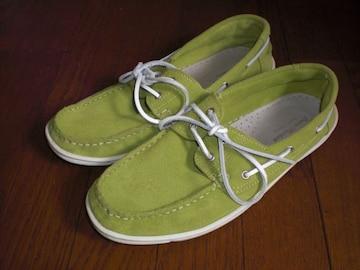 ジャーナルスタンダードjournal standard デッキシューズ スニーカー靴 黄緑
