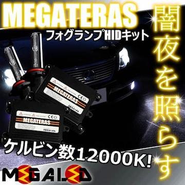 mLED】レクサスLS600h前期中期/フォグランプHIDキット/HB4/12000K