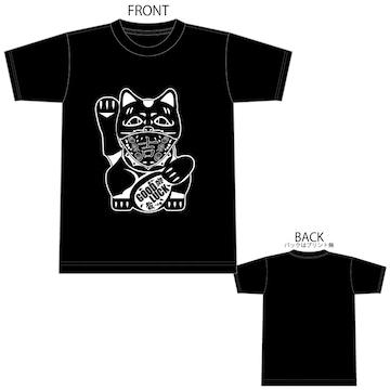 招き猫 Tシャツ TEE 半袖 半袖Tシャツ 15950 XXXL 3XL