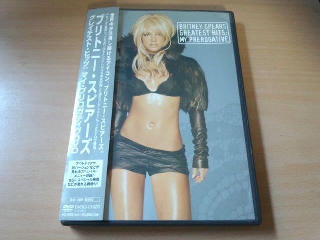 ブリトニー・スピアーズDVD「グレイテスト・ヒッツ」Britney●  < タレントグッズの