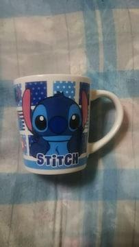 ディズニー公認♪ステッチ(stitch)陶器のコーヒーカップ〜箱付き