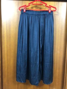 アローズ☆黒☆サテンギャザースカート