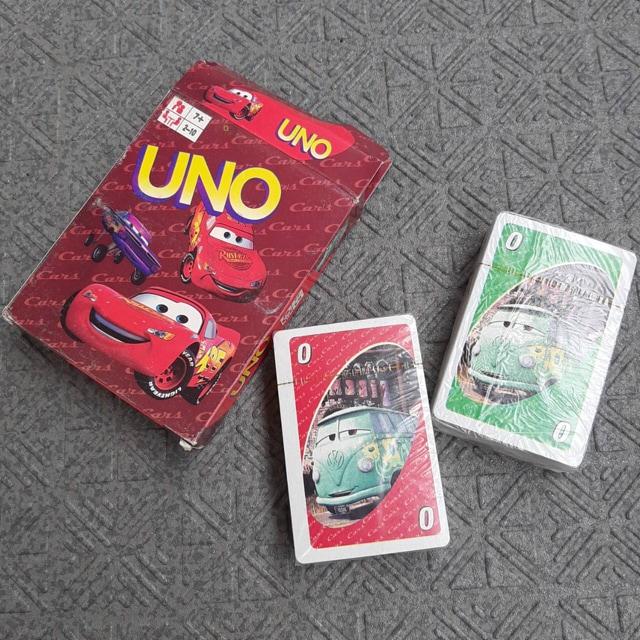 新品 知育玩具 カーズ UNO カードゲーム  < おもちゃの