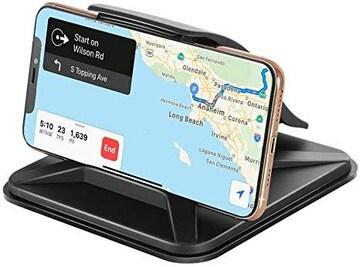 Emmabin スマホ車載ホルダー クリップ式 スマートフォン&GPS用