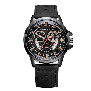 【送料無料新品】 ハンナマーティン インポート 腕時計 メンズ