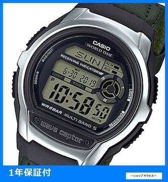 新品 即買い■カシオ 電波ソーラー 腕時計 WV-M60B-3AJF国内正規