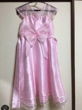 130センチピンクドレス