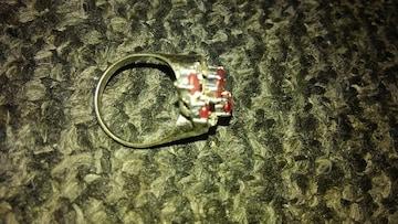 指輪 シルバーリング 色石付きゴージャス 925