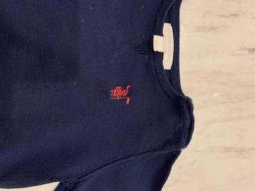 バーバリー綿セーター12M(80センチ)