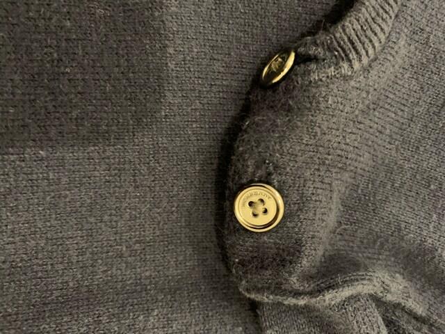 バーバリー綿セーター12M(80センチ) < ブランドの