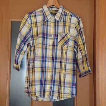 【値下げ不可】極美品!!men's チェックシャツ  L