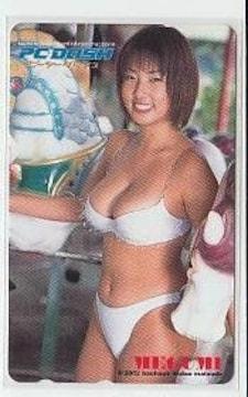 MEGUMI テレカ PCDASH