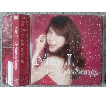 KF  May J. Christmas Songs クリスマス CD+DVD