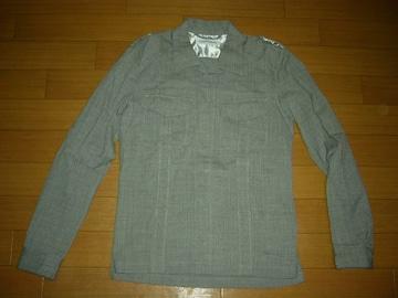 美中古ノンネイティブnonnativeワークシャツ3灰M-65系