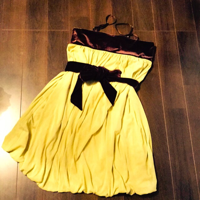 luxeキャミワンピースドレス普段着結婚式二次会  < 女性ファッションの