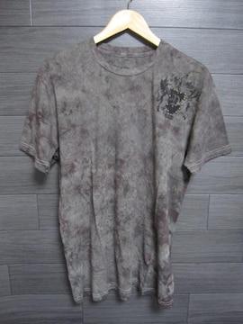 □POLLUTION/ポリューション ムラ染め Tシャツ/メンズ・XL☆新品海外セレブ