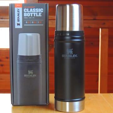 スタンレーSTANLEYクラシック真空ボトル0.47Lマットブラック