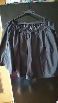 GU☆黒☆シンプル☆スカート☆カジュアル☆→sizeL