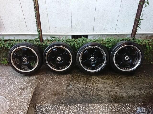 SSR/SP1-R/SL/5.5j+45&6.0j+39/4H/pcd100/165/45R16/送料込 < 自動車/バイク