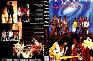 JACKSONS LEGENDARY VICTORY TOUR マイケル