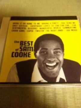 国内盤CD ベスト・オヴ・サム・クック SAM COOKE 帯あり