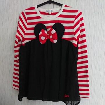 SHOO LA RUE☆春物☆ミニーマウスのトップス☆size120
