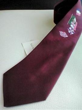 新品即決 送料無料 カールヘルム タグ付き 日本製 ネクタイ