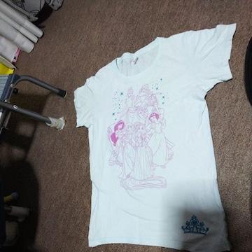 女の子用ディズニープリンセスTシャツ150�p