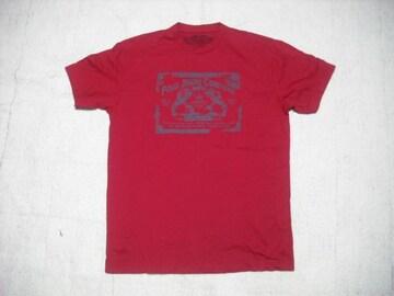 55 男 ラルフローレン 赤 半袖Tシャツ M