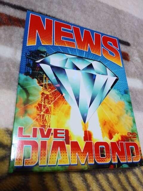 *☆NEWS☆LIVE DIAMOND DVD♪  < タレントグッズの