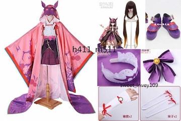 Fate/GrandOrder 刑部姫 コスプレ衣装 ウィッグと靴追加可