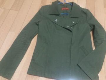 美品★カーキ色のジャケット/Mサイズ