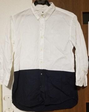 RAGEBLUE レイジブルー ツートンカラーシャツ