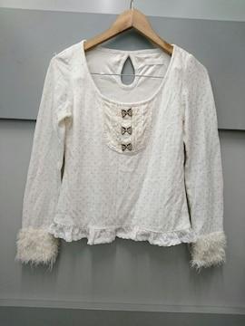 LIZ LISA☆立体ドット長袖ニットソー