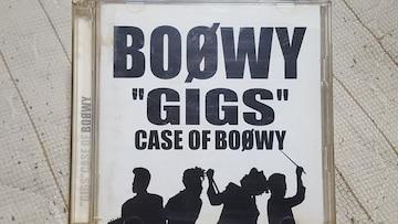 BOOWY(氷室京介.布袋寅泰) GIGS CASE OF BOOWY 2枚組ライヴCD