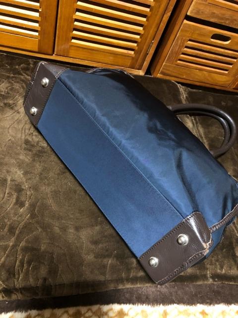 良品★オロビアンコ★ビジネスバッグ★ナイロン/leather★500スタ