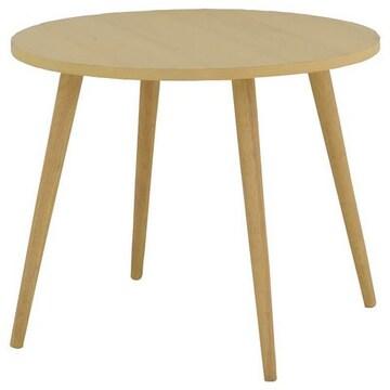 ダイニングテーブル(80cm幅)ナチュラル JLF70-80T_NA