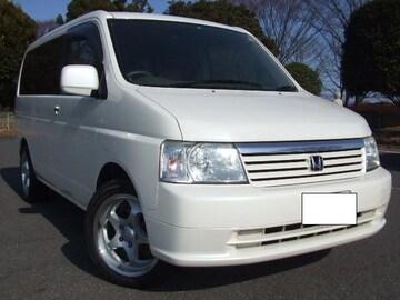 激安売切ワンオーナ人気ステップワゴン人気パールホワイト車検有