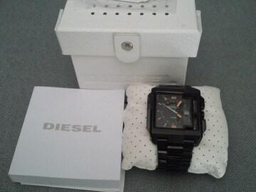 DIESEL ディーゼル ウォッチ 腕時計 ブラック