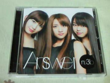 CD べるぜバブ エンディング Answer ノースリーブス(AKB48)