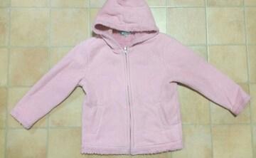 【中古】ピンクモコモコ上着★110�p