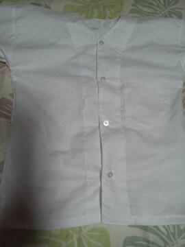 ☆新品白×無地=ダボシャツ120