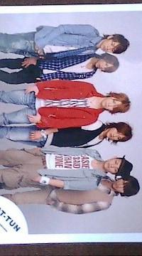 未開封美品KAT-TUN限定写真4枚セット�@貴重必見オマケ付