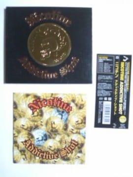 (CD)NICOTINE/ニコチン☆ADDICTIVE SHOT[初回盤]ベスト帯付き