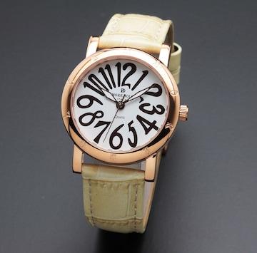 アモーレドルチェ レディース腕時計AD18303-PGWHIV