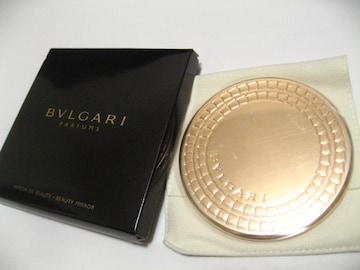 BVLGARIブルガリ豪華ゴールドカラーブランドステイタス最高の女性必須の鏡.新品