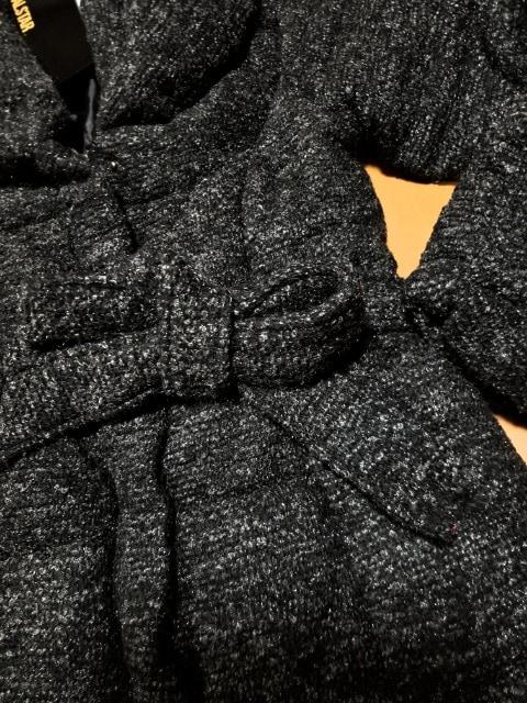 ◆ツイード紐リボン付ジャケットコート◆ < ブランドの